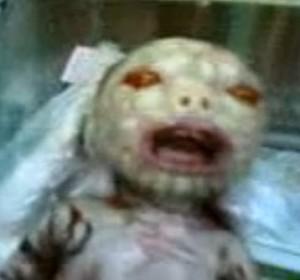 bayi muka setan